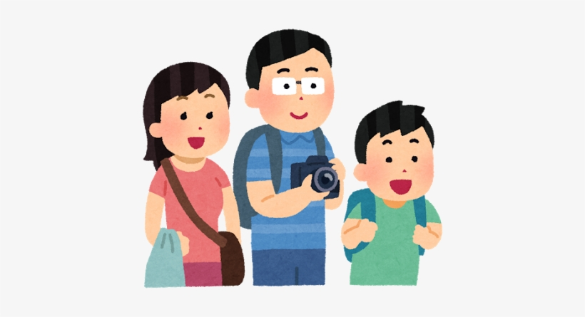 Boarding Asian Family Cartoon Png Transparent Png 422x365 Free Download On Nicepng