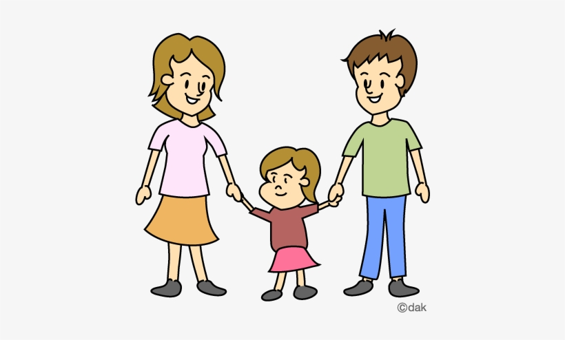Aunt Clipart Family Cartoon Family Of 3 Transparent Png 480x480 Free Download On Nicepng