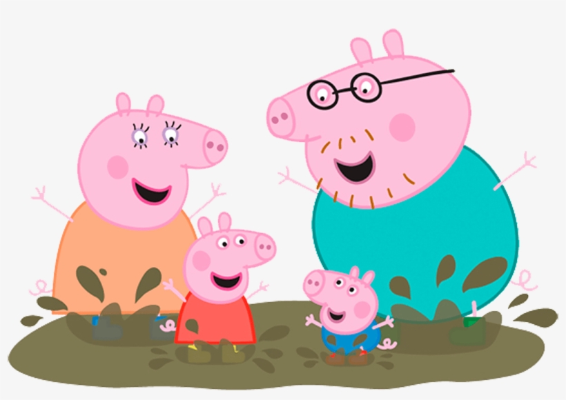 Peppa Pig Live In South Africa Peppa Pig Family Muddy Puddle