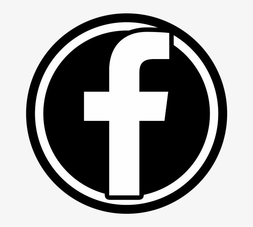 B W Facebook Icon Facebook Icon Png File Transparent Png