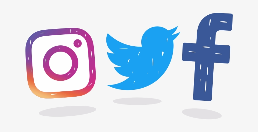 Transparent Twitter Facebook Logo - Fb Twitter And Instagram Icon Transparent PNG - 680x400 - Free Download on NicePNG