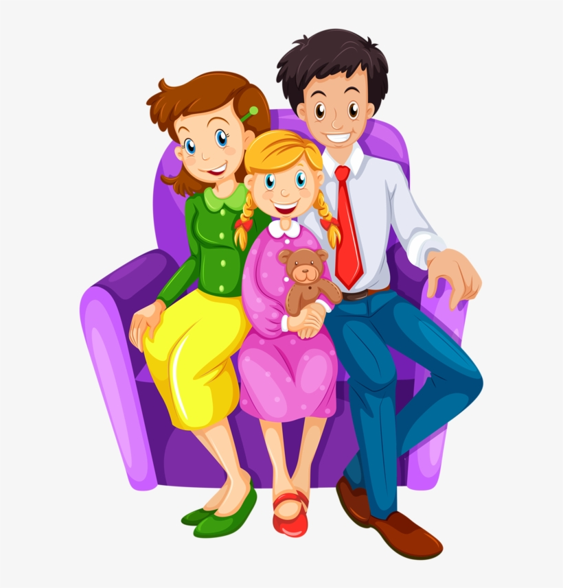 Family House Clip Art Happy Family Clipart 3 Transparent Png 600x800 Free Download On Nicepng