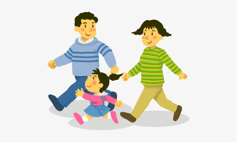 Svg Transparent Library Family Going To Church Clipart Family