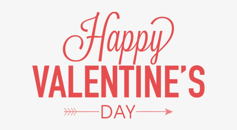 Happy Valentines Day Png Happy Valentines Day Text Png Transparent Png 600x380 Free Download On Nicepng