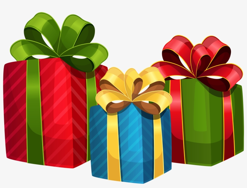 Christmas Presents Clip Art Christmas Gifts Vector Png Transparent Png 500x356 Free Download On Nicepng