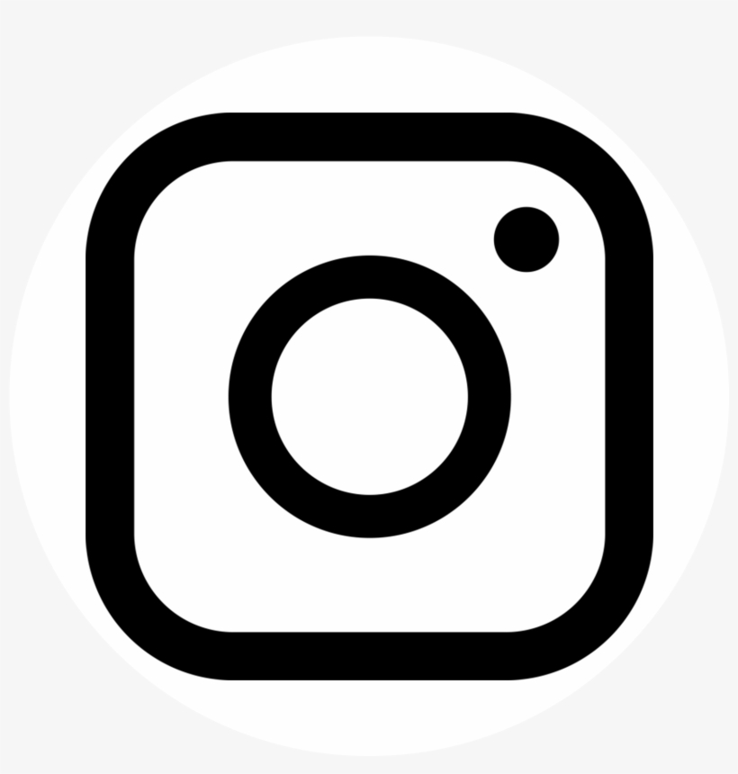 Logo Instagram With White Circle Background Png - New ...