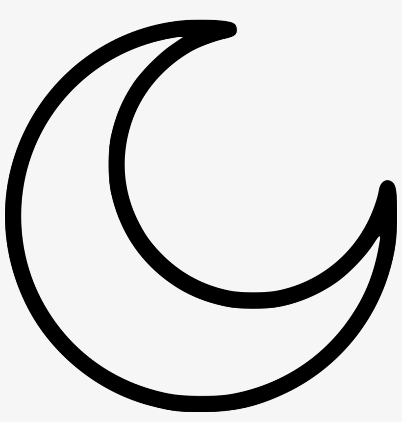 24+ Crescent Moon Vector White