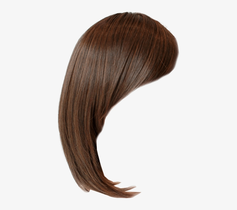 Hair Style Side Bob Transparent Background Clip Free Wig