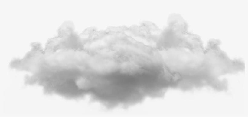 Small Single Cloud - Transparent Background Cloud Png