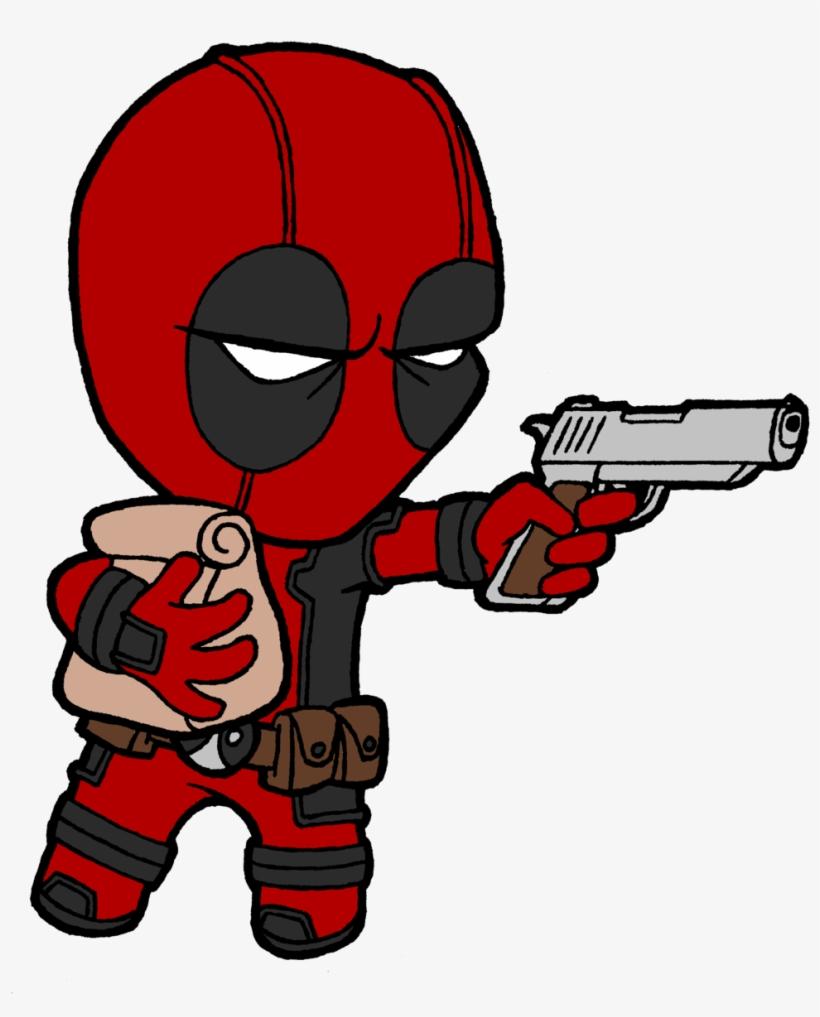 Cool Deadpool Drawings Image Imagenes Cool De Deadpool Transparent