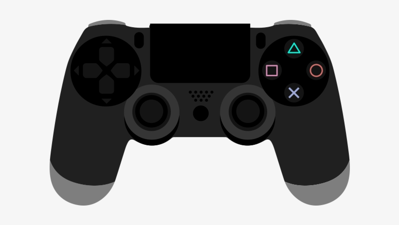 Ps4 Controller Png Graphic Cave - Video Game Clipart ...