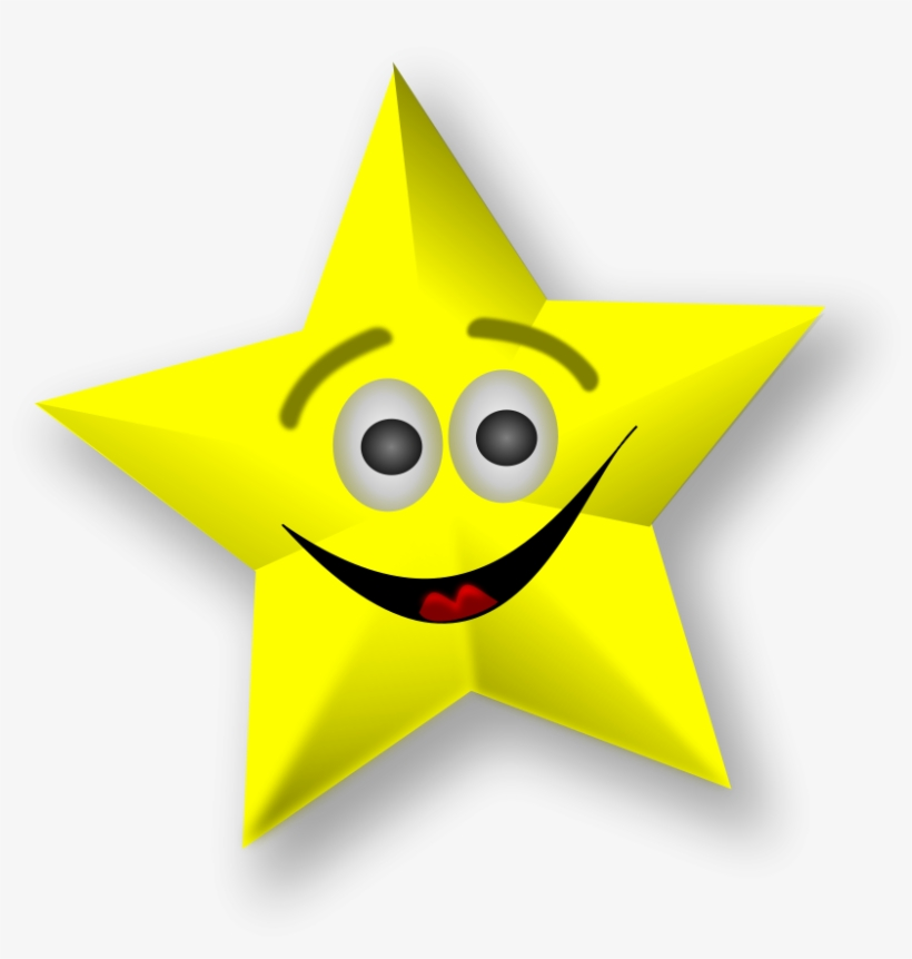 Gold Star Star Clipart And Animated Graphics Of Stars Cartoon Stars With Faces Transparent Png 700x699 Free Download On Nicepng