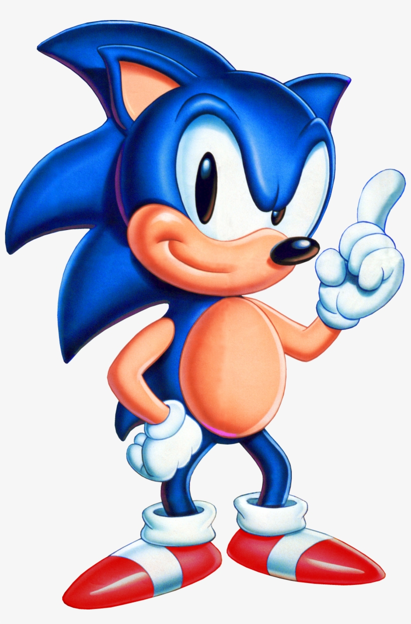Sonic 1 Usa Sonic Sonic The Hedgehog Usa Transparent Png 1485x2184 Free Download On Nicepng