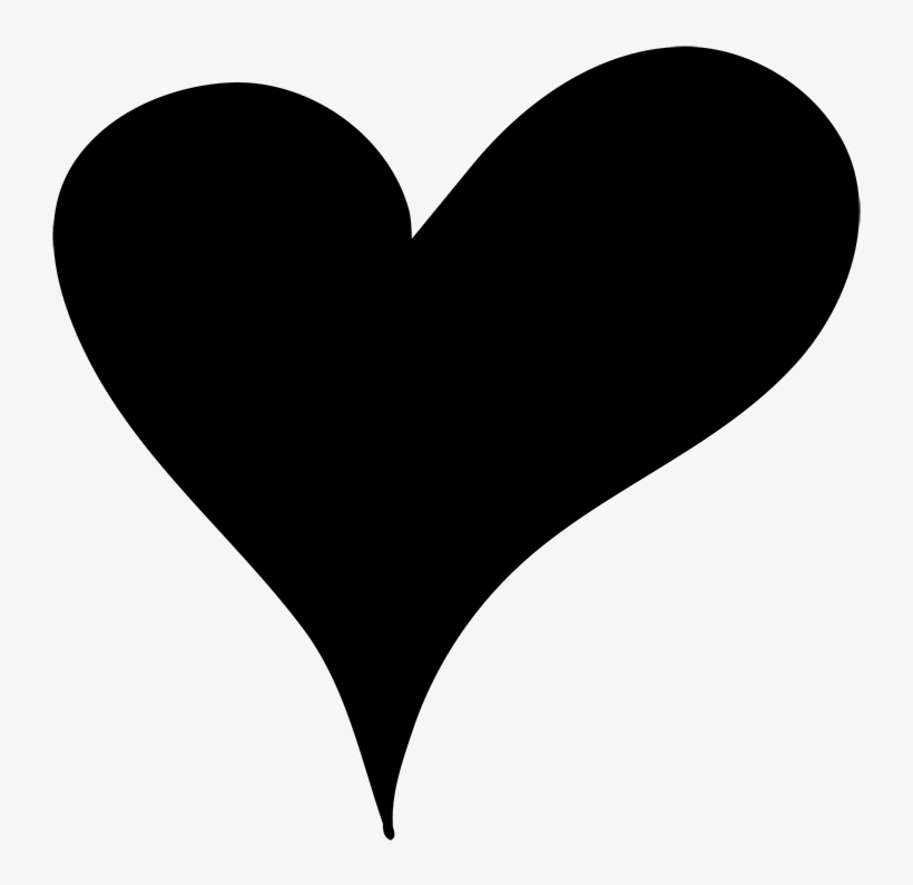 Hearts Clipart Doodles Heart Png Cute Doodled Black Hand Drawn
