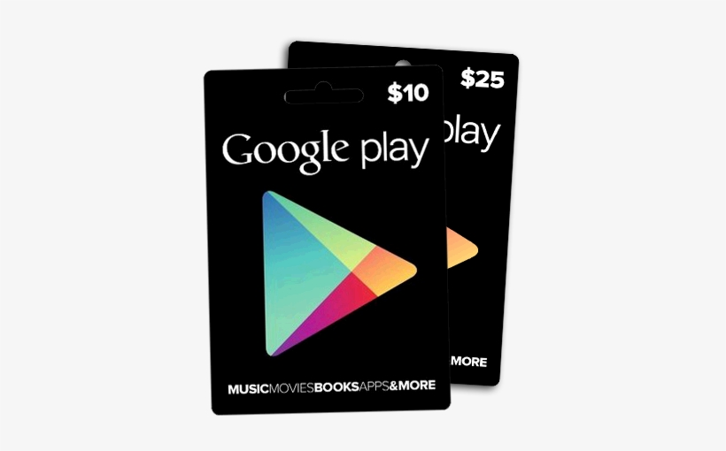 Google Play Gift Card Google Play Cards Png Transparent Png 370x490 Free Download On Nicepng