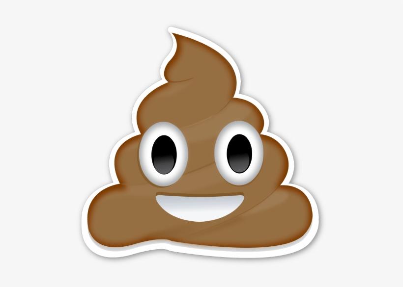 photo about Large Printable Emojis named Down load - High Poop Emoji Printable Clear PNG