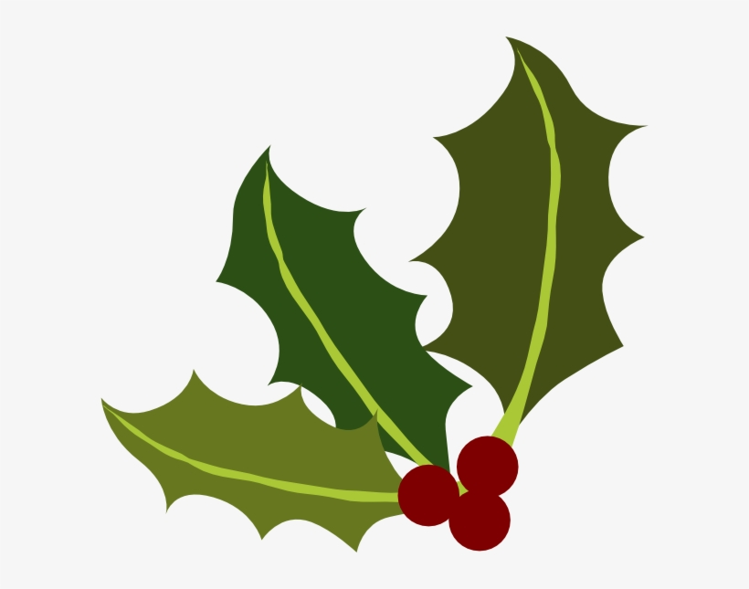 Holly Leaf Png Holly Leaves Clipart Transparent Png 600x565 Free Download On Nicepng