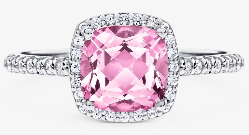 Pink Argyle Diamond Electra - Pre-engagement Ring