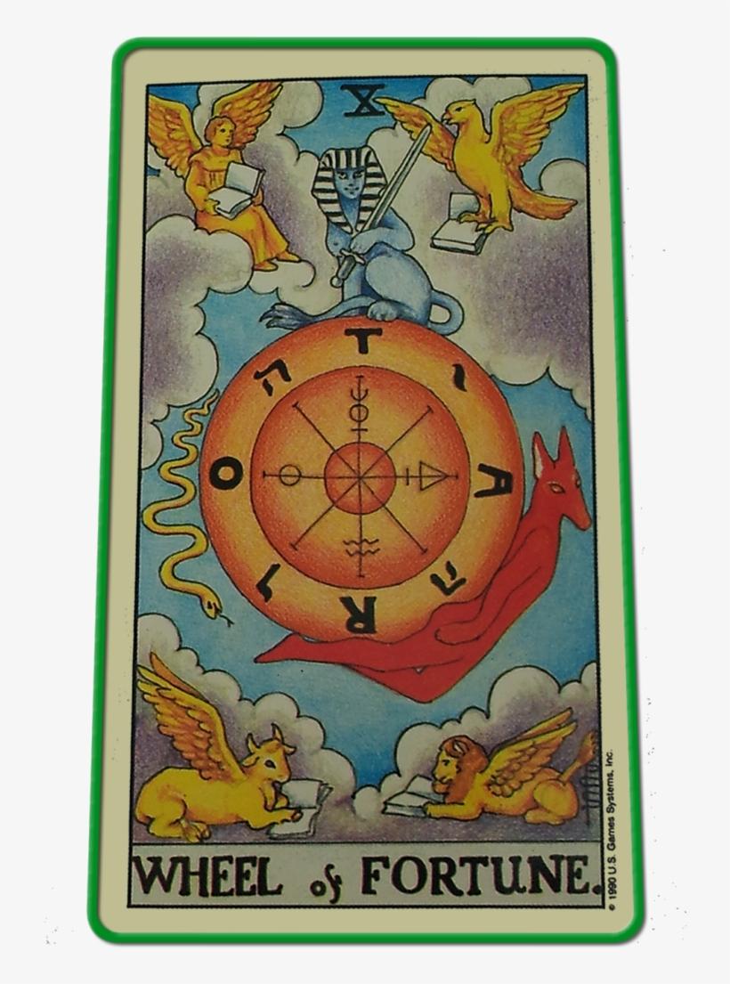 Картинка колесо фортуны карты таро