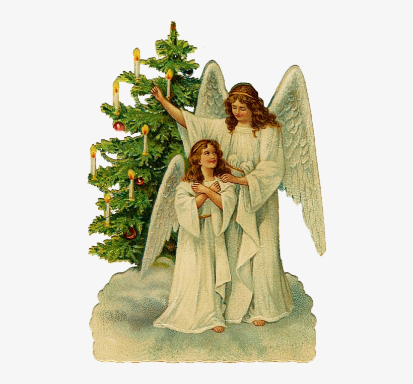 Simplemente Angeles Victorian Christmas Tree Victorian Victorian Christmas Angel Clipart Free Transparent Png 501x699 Free Download On Nicepng
