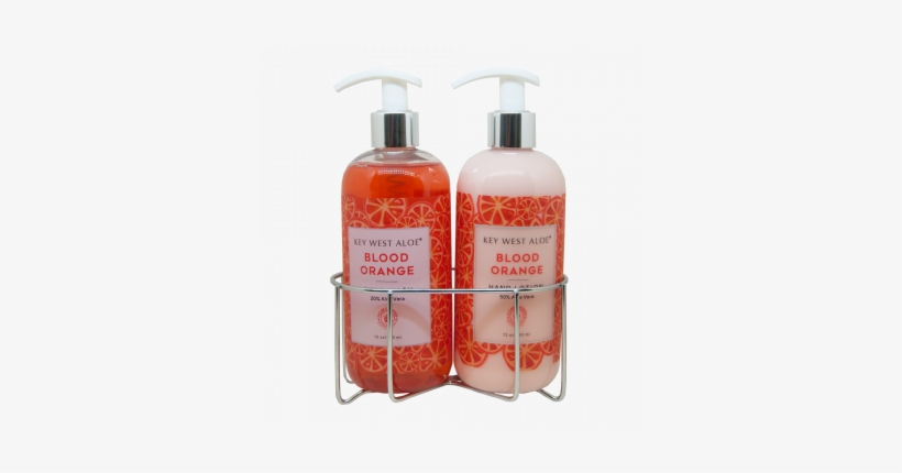 Blood Orange Sink Duo, Hand Lotion Made With 50% Aloe - Sink
