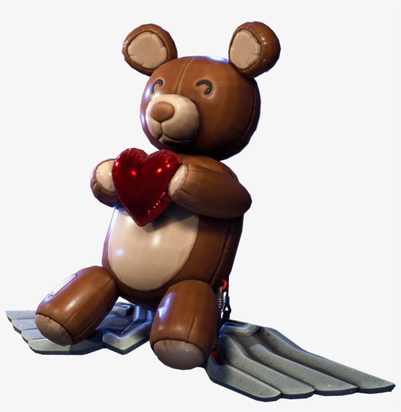 Bear Force One - Teddy Bear Glider Fortnite, Transparent ...