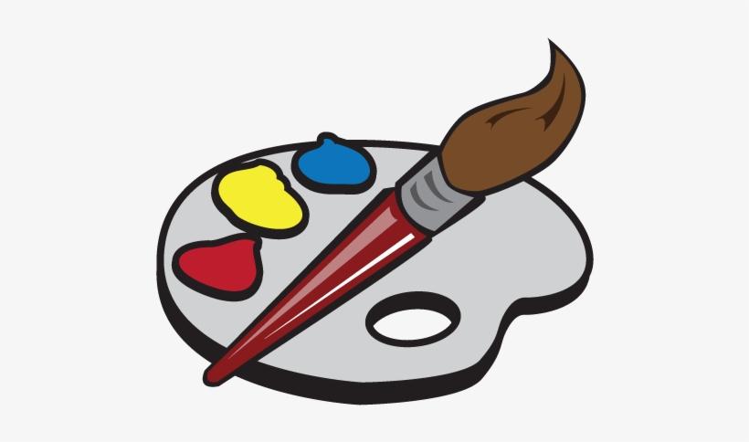 Artist Supplies - Cartoon Artist Painter Transparent Transparent ...