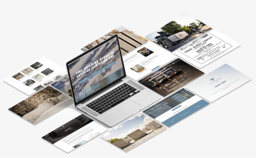 Phenix Marble Hook Creative Website Mockup Web Design Mockup Png