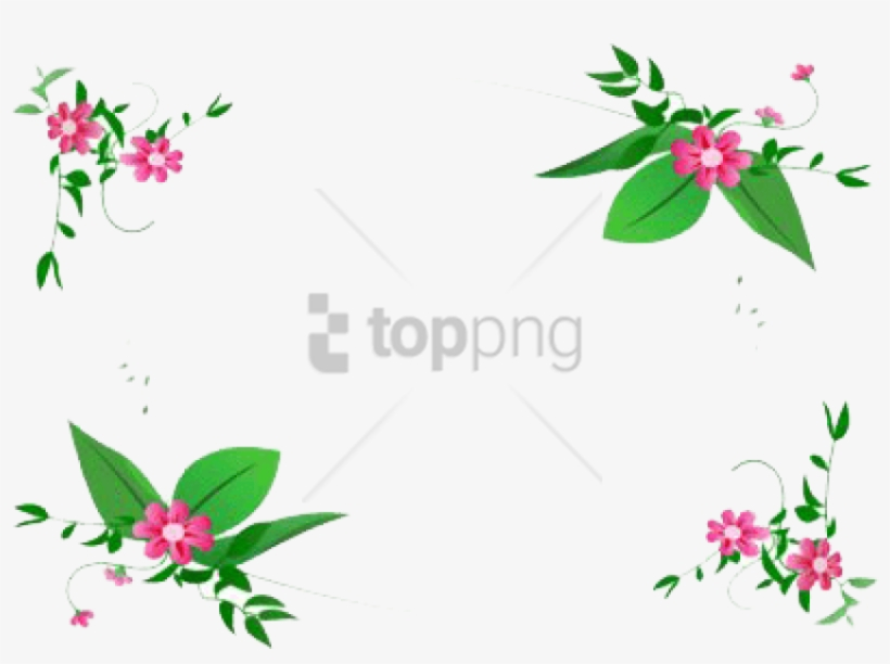 Free Png Flowers Frame Small Png Image With Transparent