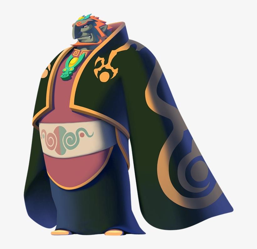 Ganondorf Zelda Ganondorf Wind Waker Transparent Png