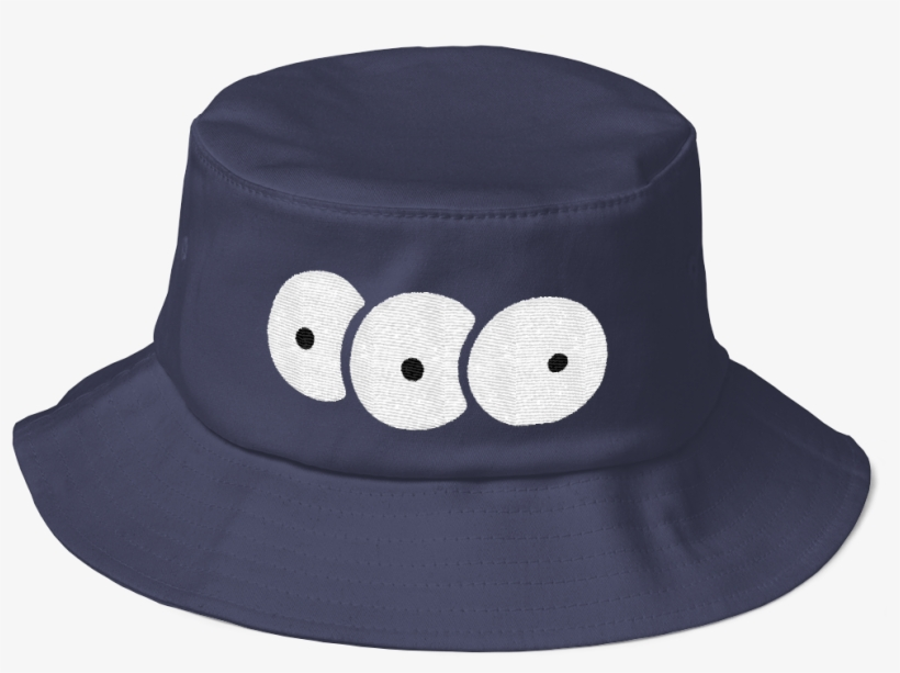 04137a4b98d Third Eye Bucket Hat Navy - Bucket Hat Transparent PNG - 1000x1000 ...
