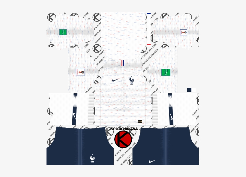 309c851d9 France 2018 World Cup Kit - Dream League Soccer Kits Tottenham 2019 ...