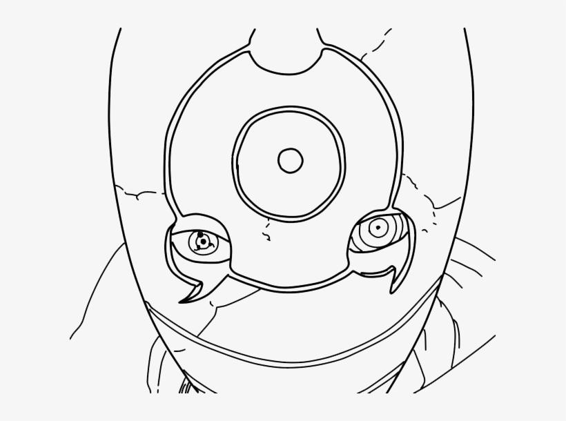 Dibujos Para Colorear De Kakashi: 28 Collection Of Obito Drawing Easy