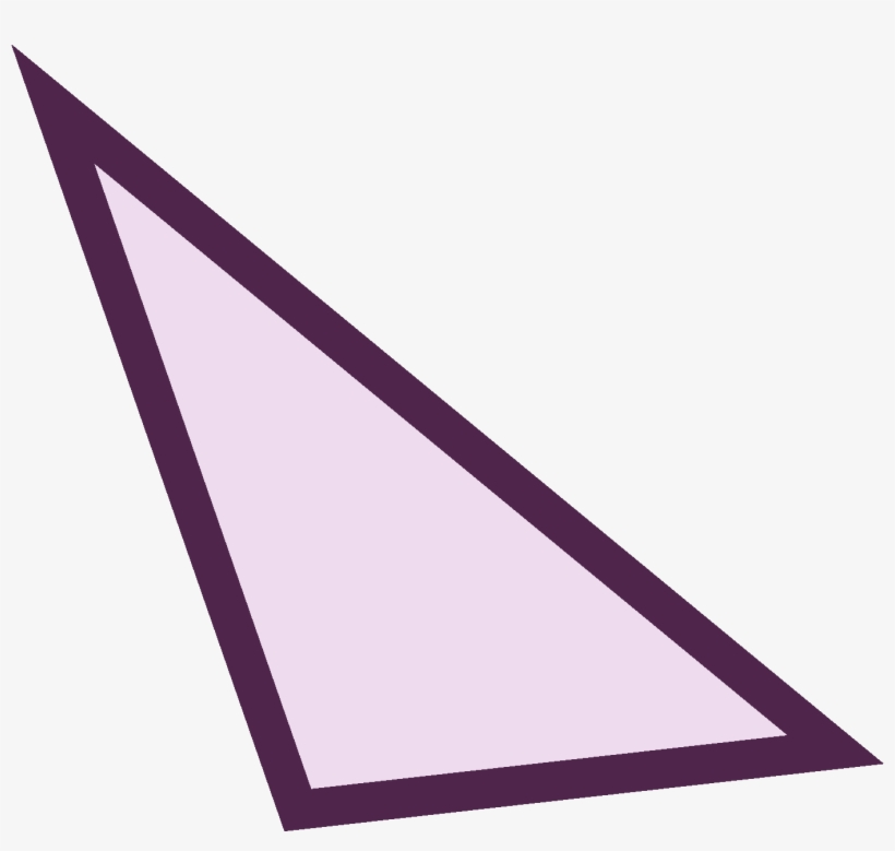 Triangle Clipart Isosceles Triangle - Scalene Triangle Transparent