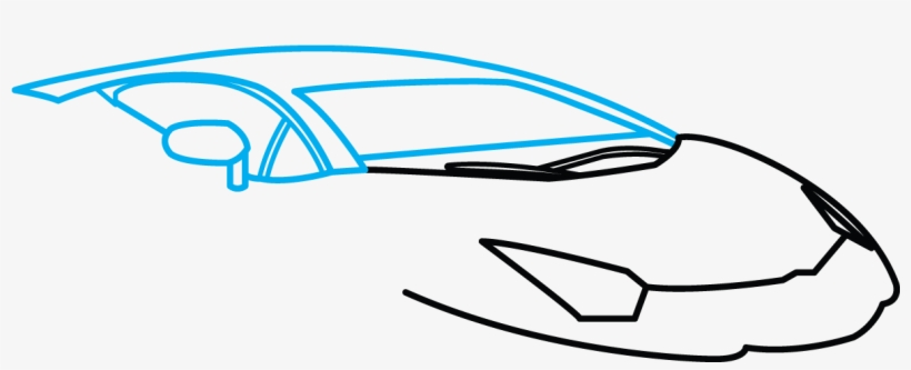 Lamborghini Aventador Step By Step Drawing Tutorial Lamborghini