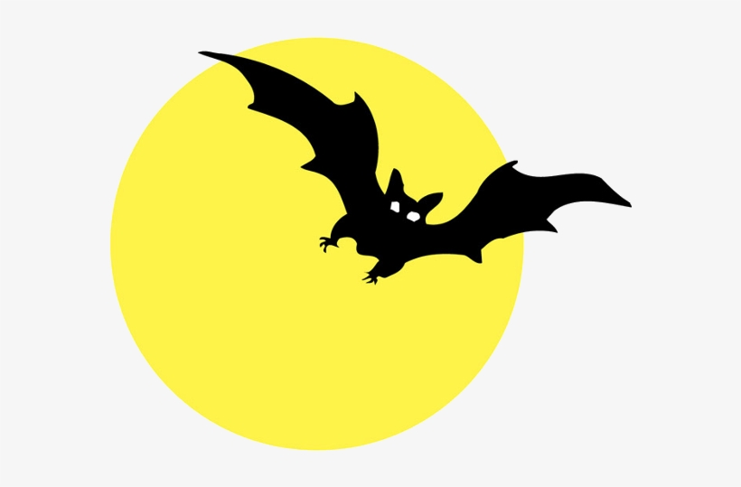 Image Result For Scary Bat Silhouettes Halloween Clipart Halloween Cartoon Clip Art Transparent Png 600x600 Free Download On Nicepng