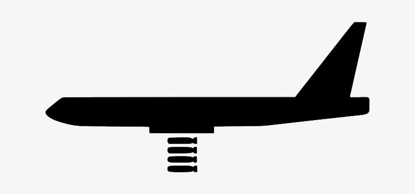 War Silhouette Cartoon Airplane Transportation Airplane