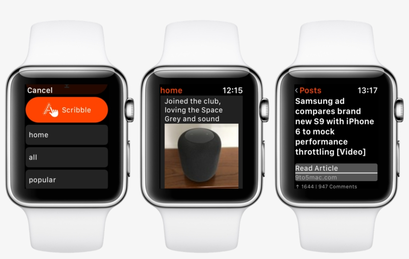 Nano Brings The Full Reddit Experience To Apple Watch - Apple Watch