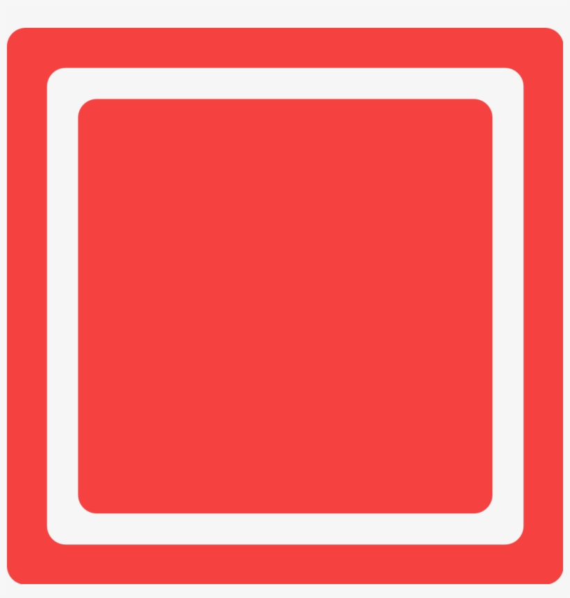 File Red Checkbox Unchecked Svg Red Checkbox Transparent Png