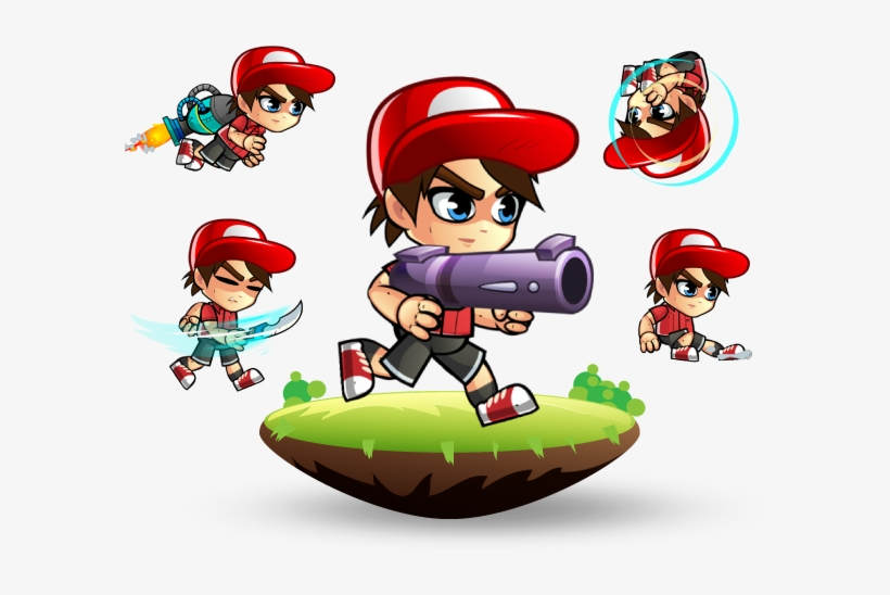 2d game character download