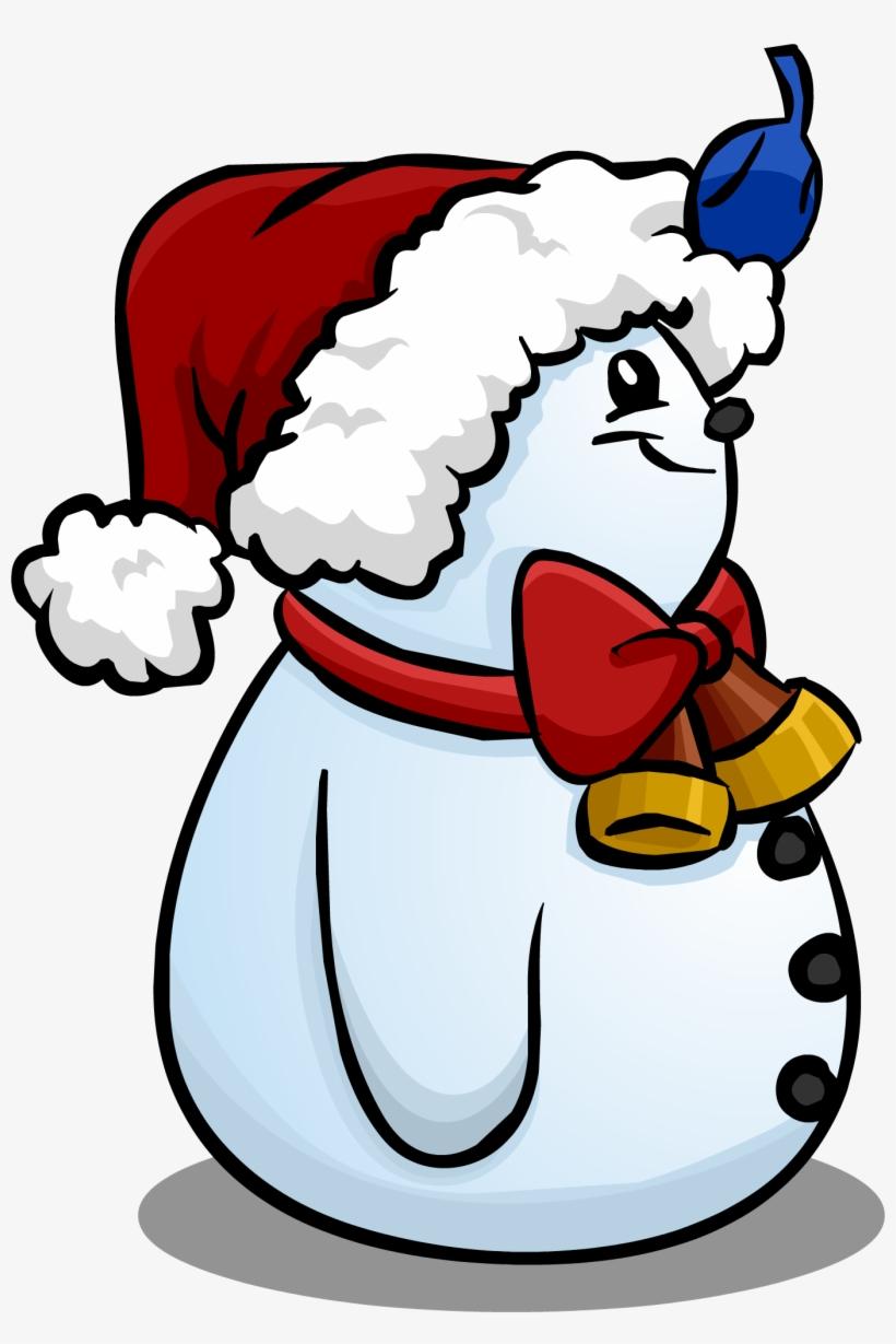 Christmas Hat Cartoon Transparent.Santa Hat Snowman Sprite 007 Cartoon Transparent Png