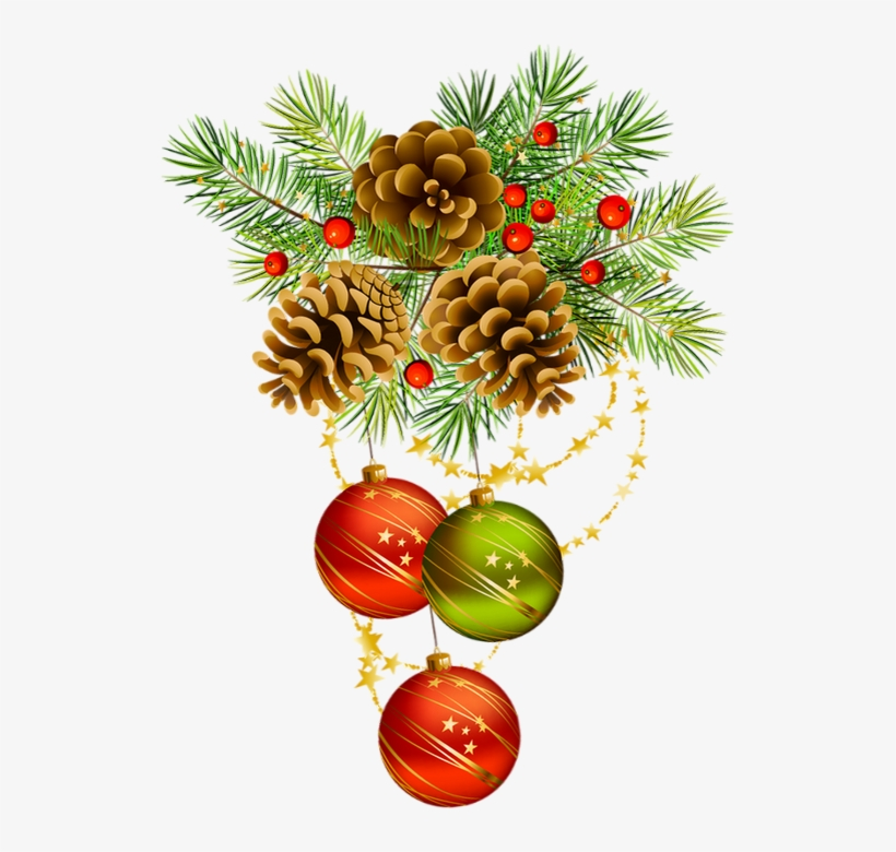 Tube Image Noel.Cluster Png Boules De Noel Tube Christmas Day Transparent