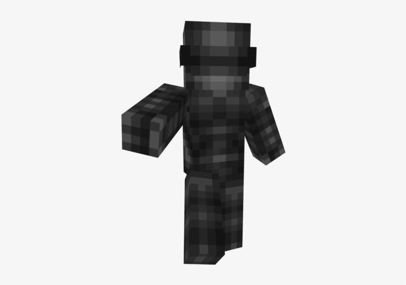 Rlmypbspng Minecraft Gi Joe Snake Eyes Skin Transparent Png
