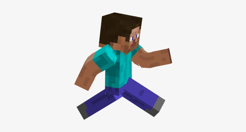 Minecraft Clipart Steve Running Minecraft Running Transparent Png