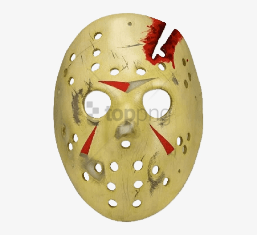 Friday The 13th Jason Mask Friday The 13th Part 4 Jason Mask Prop Replica Transparent Png 400x400 Free Download On Nicepng