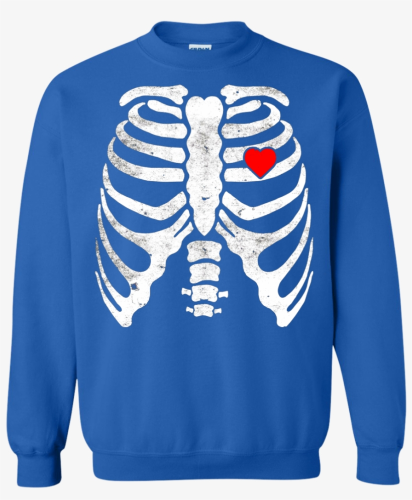 712bcf1d885c0 Skeleton Heart Rib Cage X Ray Kids Valentines Day T - Skeleton Maternity  Chicken Beer X-ray Halloween Tshirt