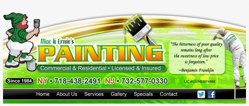 Mac & Ernies Painting - Mac & Ernie's Paint & Decorating