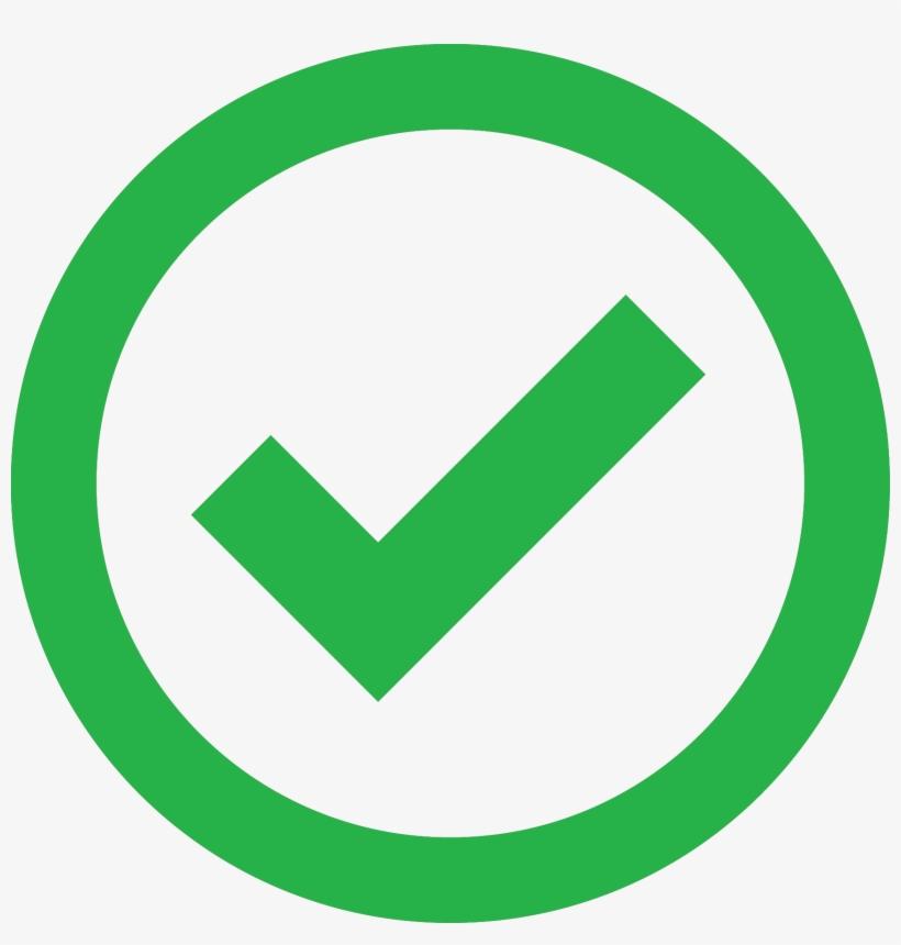 Validation - Green Check Circle Transparent Transparent PNG - 1717x1717 -  Free Download on NicePNG