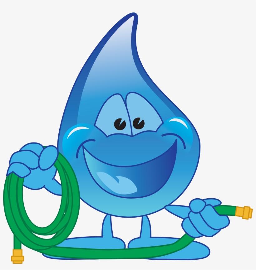 Картинка вода мультяшная