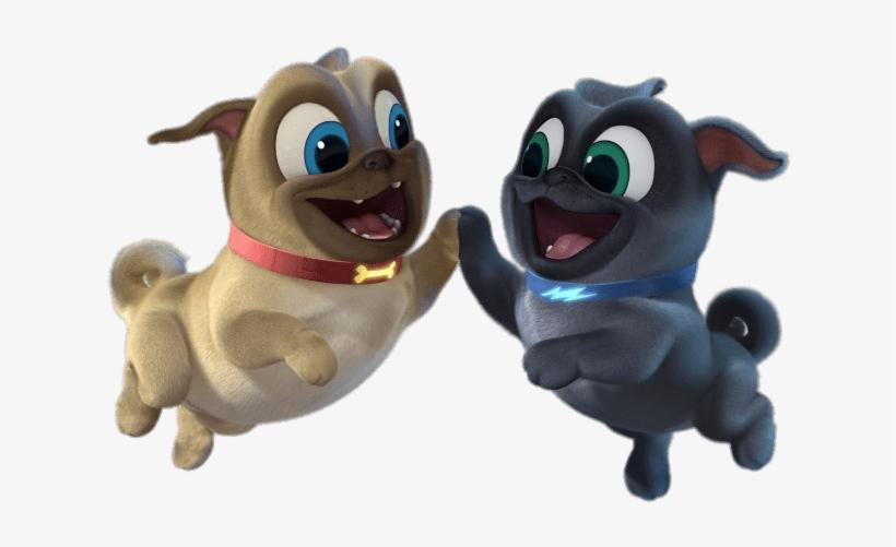 Puppy Dog Pals High Five Puppy Pals Happy Birthday Transparent Png